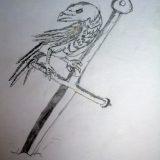 Гарван и меч