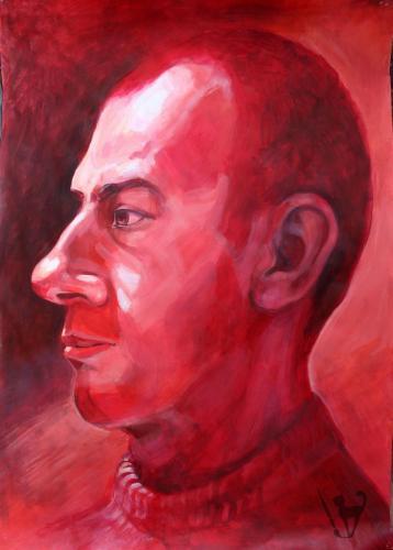 Червен портрет